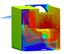 inverter CFD cooling