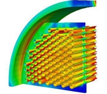 FEA fatigue calculations heat exchanger