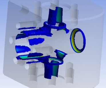 FEA stress analysis of subsea valves