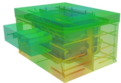 injection moulding thermal analysis