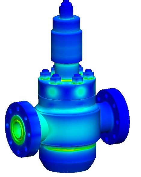 FEA services pressure vessel analysis