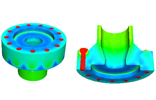 CALTEC selected PRE Technologies for FEA assessment of their new flange