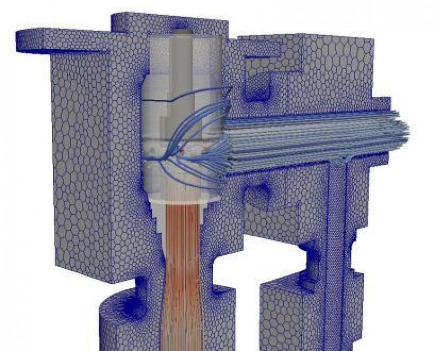 choke valve cooling cfd model
